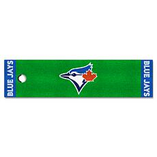 Officially Licensed MLB Putting Green Mat  - Toronto Blue Jays