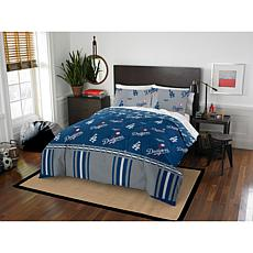 Officially Licensed MLB Queen Bed in a Bag Set - Los Angeles Dodgers