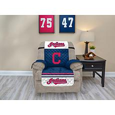 Officially Licensed MLB  Recliner Furniture Protector - Indians