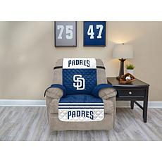 Officially Licensed MLB  Recliner Furniture Protector - Padres