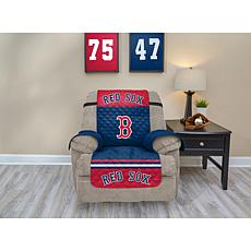 Officially Licensed MLB  Recliner Furniture Protector - Red Sox