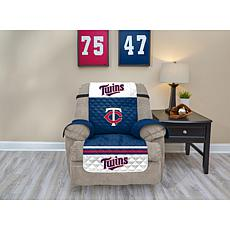 Officially Licensed MLB  Recliner Furniture Protector - Twins
