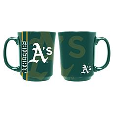 Officially Licensed MLB Reflective Mug - Oakland Athletics