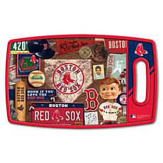 Officially Licensed MLB Retro Series Cutting Board - Boston Red Sox