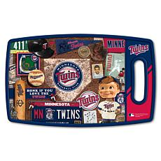 Officially Licensed MLB Retro Series Cutting Board - Minnesota Twins