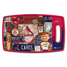 Officially Licensed MLB Retro Series Cutting Board - St. Louis