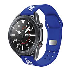 Officially Licensed MLB Silicone Sports Band for Samsung Watch-Dodgers