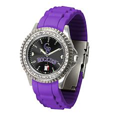 Officially Licensed MLB Sparkle Series Watch - Colorado Rockies