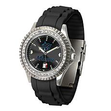 Officially Licensed MLB Sparkle Series Women's Watch - Miami Marlins
