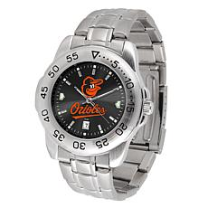 Officially Licensed MLB Sport Steel Series Watch - Baltimore Orioles