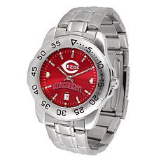 Officially Licensed MLB Sport Steel Series Watch - Cincinnati Reds