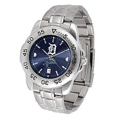 Officially Licensed MLB Sport Steel Series Watch - Detroit Tigers
