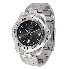 Officially Licensed MLB Sport Steel Series Watch - Miami Marlins