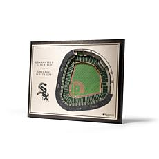 Officially Licensed MLB StadiumView 3D Wall Art - Chicago White Sox