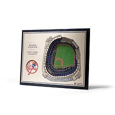 Officially Licensed MLB StadiumViews 3D Wall Art - New York Yankees