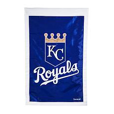 Officially Licensed MLB Team Logo House Flag - Kansas City Royals