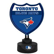 Officially Licensed MLB Team Logo Neon Lamp - Toronto Blue Jays