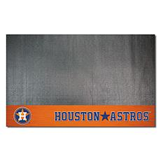 Officially Licensed MLB Vinyl Grill Mat  - Houston Astros