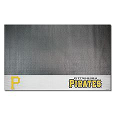 Officially Licensed MLB Vinyl Grill Mat  - Pittsburgh Pirates