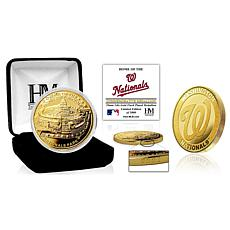 Officially Licensed MLB Washington Nationals Stadium Gold Mint Coin