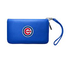 Officially Licensed MLB Zip Organizer Wallet - Chicago Cubs