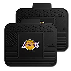 Officially Licensed NBA 2-Piece Heavy Duty Utility Mat Set - LA Lakers