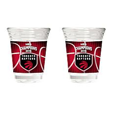 Officially Licensed NBA 2019 Champs 2-piece Party Shot Set