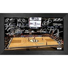Officially Licensed NBA 2021 Signature Court - Brooklyn Nets