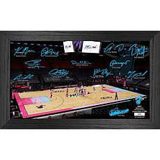 Officially Licensed NBA 2021 Signature Court - Miami Heat