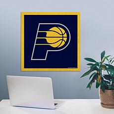 """Officially Licensed NBA 23"""" Felt Wall Banner - Indiana"""