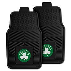"Officially Licensed NBA 2pc Car Mat Set 17"" x 27"" - Boston Celtics"