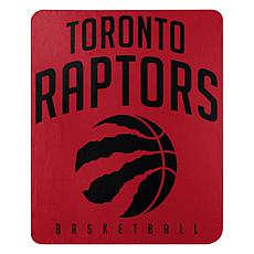 "Officially Licensed NBA 50"" x 60"" Layup Fleece - Raptors"