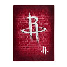 Officially Licensed NBA 680 Street Raschel Throw Blanket - Rockets
