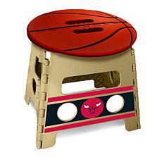 Officially Licensed NBA Folding Step Stool - Chicago Bulls