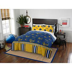 Officially Licensed NBA Full Bed in a Bag Set - Golden State Warriors