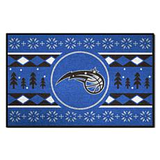 Officially Licensed NBA Holiday Sweater Starter Mat- Orlando Magic