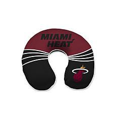 Officially Licensed NBA Memory Foam U-Neck Travel Pillow - Heat