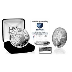 Officially Licensed NBA Silver Mint Coin - Memphis Grizzlies