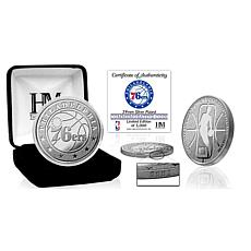Officially Licensed NBA Silver Mint Coin - Philadelphia 76ers