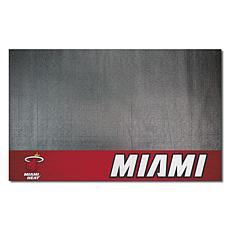 Officially Licensed NBA Vinyl Grill Mat  - Miami Heat