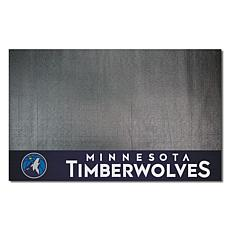 Officially Licensed NBA Vinyl Grill Mat  - Minnesota Timberwolves