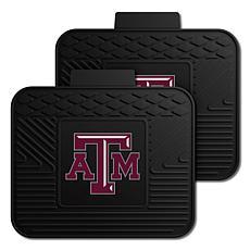 Officially Licensed NCAA  2-pc Heavy Duty Vinyl Mat Set - Texas A&M