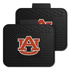 Officially Licensed NCAA  2-pc Heavy Duty Vinyl Mat Set - Auburn Un.