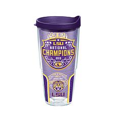 Officially Licensed NCAA  2019 National Champs 24oz. Tumbler w/Lid-LSU