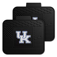 Officially Licensed NCAA  2pc Heavy Duty Vinyl Mat Set-Un. of Kentucky