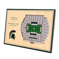 Officially Licensed NCAA 3-D Desktop Display - Michigan State Spart...