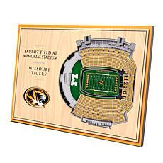 Officially Licensed NCAA 3-D Desktop Display - Missouri Tigers