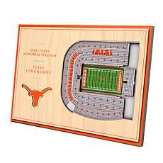 Officially Licensed NCAA 3-D Desktop Display - Texas Longhorns