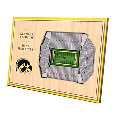 Officially-Licensed NCAA 3-D StadiumViews Display - Iowa Hawkeyes