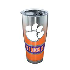 Officially Licensed NCAA 30 oz. Stainless Steel Tumbler-Clemson Tigers